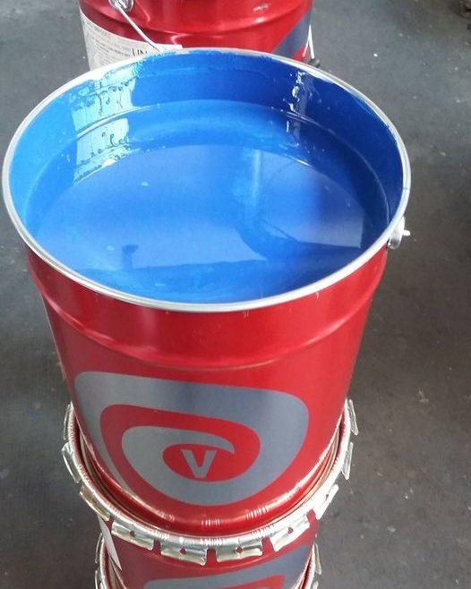 vendita vernici blu industriali