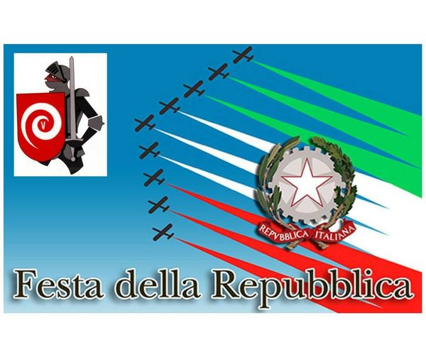 Domani siamo chiusi auguriamo buona festa della Repubblica