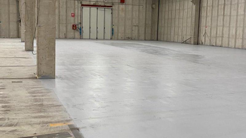 VIVCOLOR propone un ripristino di pavimentazione in cemento del Forno