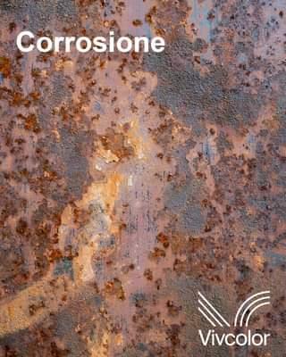 """Ist möglicherweise ein Bild von Text """"Corrosione Vivcolor"""""""